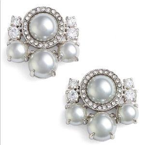 Kate Spade! Pearls Cluster Stud Earrings